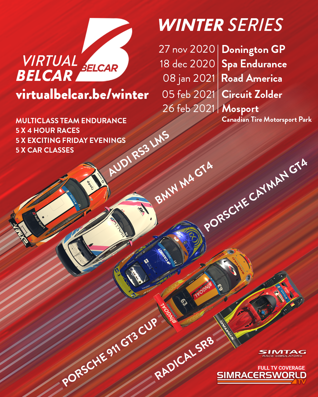 virtual belcar winter series